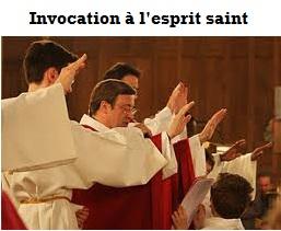 Invocation l'esprit saint